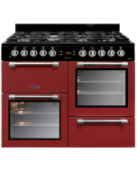 Leisure CK100F232R Leisure Cookmaster Dual Fuel - Red