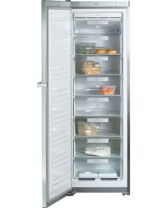 Miele FN 14827 S-1 Freestanding Frost Free Freezer - Stainless Steel