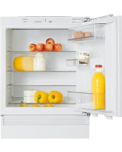 Miele K 9122 Ui 60cm Wide Integrated Under Counter Fridge - White