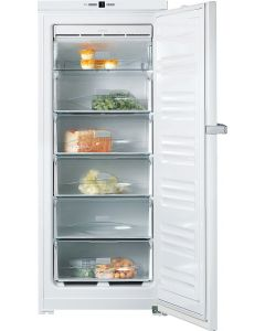 Miele FN24062 60cm Wide Frost Free Freestanding Upright Freezer - White