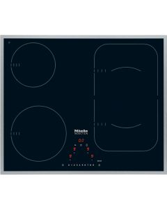 Miele KM 6322 4 Cooking Zone 60cm Induction Gas Hob - Black