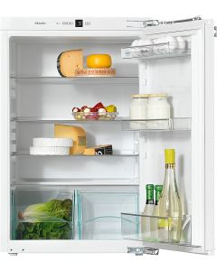 Miele K 32222 i 56cm Wide Integrated In-Column Fridge - White