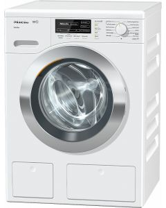 Miele WKG 120 Free Standing Washing Machine with TwinDos and CapDos System - White