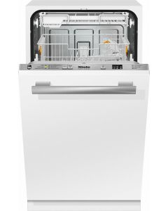 Miele G4780 SCVi 45 cm Fully Integrated 9 Place Dishwasher with Delay Start - Stainless Steel