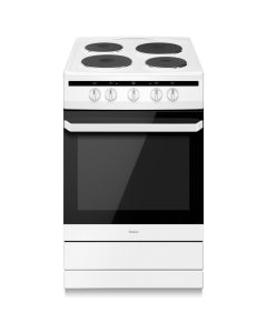 Amica 508EE1W 50cm white Single Cavity Electric Cooker