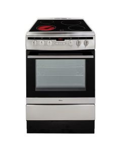 Amica 608CE2TAXX 60cm stainless Single Cavity Electric Cooker