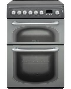 hotpoint 60HEGS freestanding electric double oven cooker