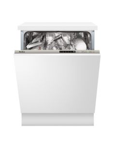 Amica ADI650 60cm integrated dishwasher, 14 place settings, 5 programmes, 3 baskets, 2 level top basket and delay timer Fully-Integrated Dishwasher