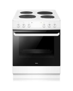 Amica AFS1630WH 60cm single cavity electric cooker, white