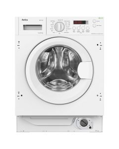 Amica AWT714S 7kg, 1400rpm, 16progs, LED, extra rinse, adj. spin speed, Pre wash, Child lock, Start delay, 54.0cm depth Integrated Washing Machine