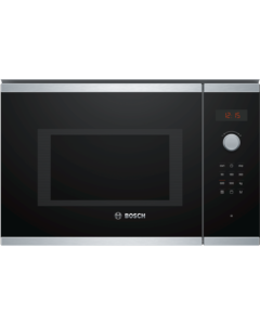 Bosch BEL553MS0B Serie 4 Microwave Oven Brushed steel