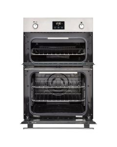 Belling BI902G Stainless Steel NATURAL GAS Double Oven