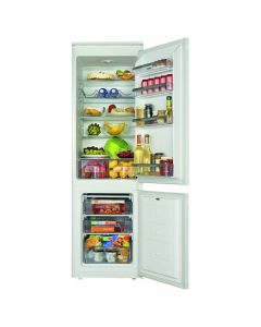 Amica BK3163 Built-In Static, 177cm high,182l fridge, 60l fzr 4 glass shelves, 2 side by side salad/vegetable containers, 3 trans fzr drawers Integrated Fridge -Freezer