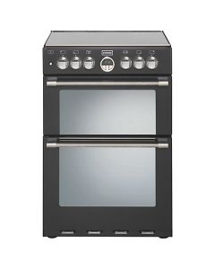 Stoves Sterling 60cm Dual Fuel Cooker 600DF BLK