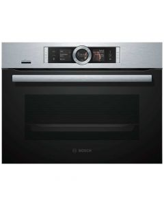 Bosch CSG656BS6B Brushed steel Built In Steam Combination Oven