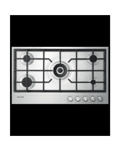 Fisher & Paykel CG905DLPX1 90cm Gas on Steel Hob