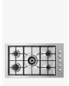 Fisher & Paykel CG905DWNGFCX3 900mm Wide Gas on Steel Hob