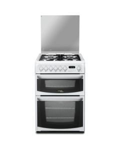 Hotpoint CH60DHWF 60cm Dual Fuel Cooker - White