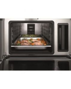 Miele DG6100 Built-In Steam Combination Oven - Clean Steel