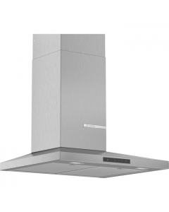 Bosch DWQ66DM50B Serie 4 Pyramid Chimney Hood Brushed steel