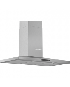 Bosch DWQ96DM50B Serie 4 Pyramid Chimney Hood Brushed steel