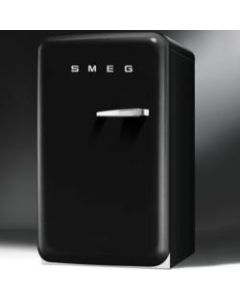 Smeg FAB10HLNE 50s Style Black Home Bar Fridge