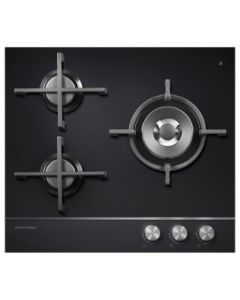 Fisher & Paykel CG603DNGGB1 Gas Hob - Black