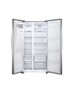 Hisense Free Standing American Style Refrigeration FSN535A20D - Stainless Steel Look