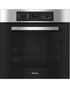 Miele H2265B  Built-In Electric Single Oven - Clean Steel