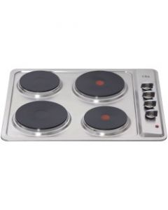 CDA HE6050SS stainless steel solid plate hob