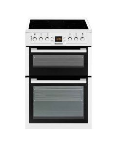 Blomberg HKN63W 60cm Freestanding Double Oven Electric Cooker - White