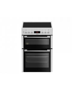 Blomberg HKN65W Cooker, Electric, Double Oven