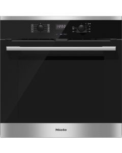 Miele H2566BP Built-In Single Electric Oven - Stainless Steel