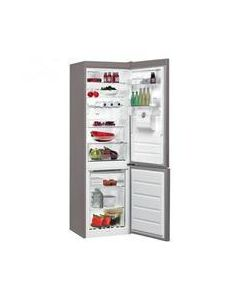 Whirlpool BSNF8451OXAQ Stainless Steel Frost Free Fridge Freezer