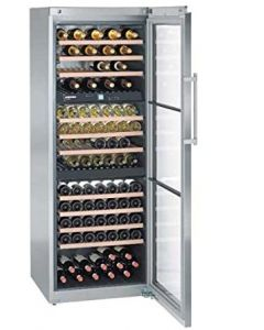 Liebherr WTes5872 Steel Glass Door Wine Cooler