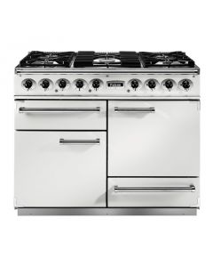 82300 Falcon 1092 Deluxe DF/NG White/ Nickel Trim