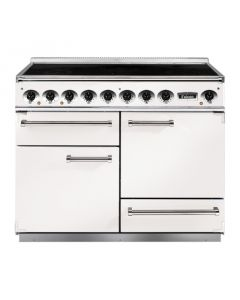 82440 Falcon 1092 Deluxe Induction White/ nickel Trim
