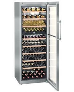 Liebherr WTes5972 Steel Glass Door Wine Cooler