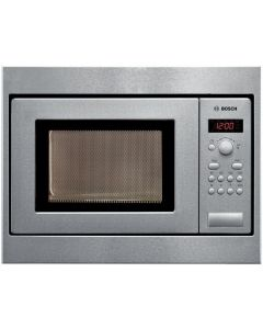 Bosch HMT75M551B Serie 4 Built-In Microwave Ovens - Brushed Steel
