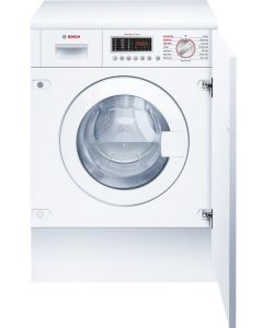 Bosch WKD28541GB Serie 6 Integrated Front Loading Washer Dryers - White