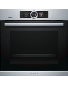 Bosch Hbg6764s6b Built in Electric Single Oven - Brushed Steel