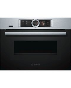BOSCH CNG6764S6B Built In Compact Oven with Microwave