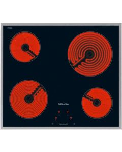 Miele KM 5600 4 Cooking Zone Electric cooktop with onset controls - Black