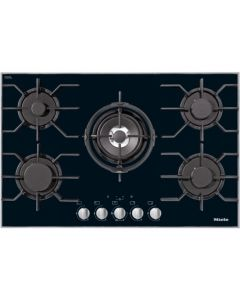 Miele KM 3034 5 Zone Burner Gas Hob - Black