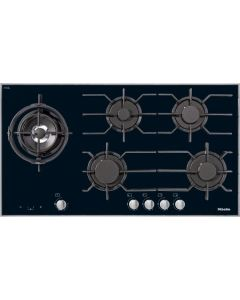 MIELE  KM 3054 Glass based Gas Hob - Black