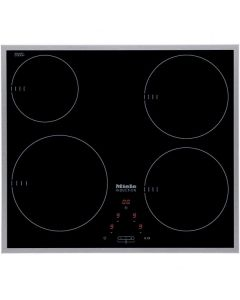 Miele KM 6115 4 Cooking Zone 60cm Induction - Black
