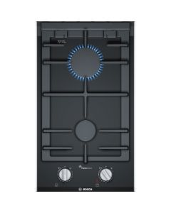 Bosch PRB3A6D70 30cm Built In Domino Gas - Black