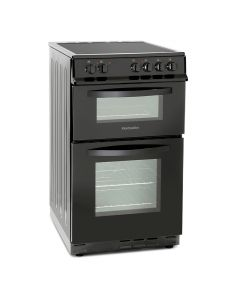 Montpellier MDC500FK 50cm Double Oven Silver