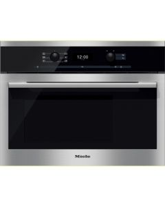 Miele DG6300 Built-in Steam Oven With Multi Steam Technology - Clean Steel