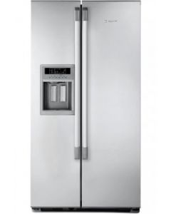 Hotpoint MSZ910NDF - Side By Side Fridge Freezer With Ice And Water Dispenser in Light Silver